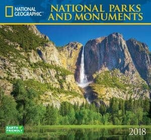National Geographic National Parks Wall Calendar