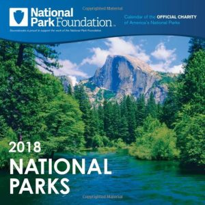 National Parks Foundation National Parks Wall Calendar