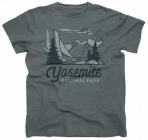 Parks Project T-Shirt Yosemite