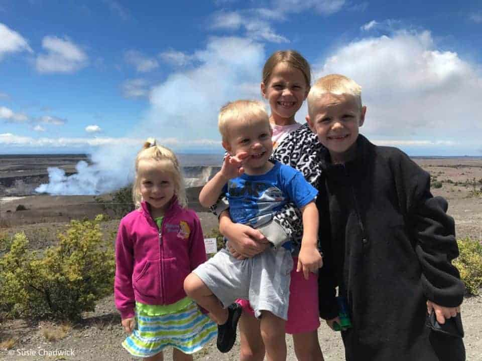 Hawaii volcano national park - Big Island of Hawaii with kids.