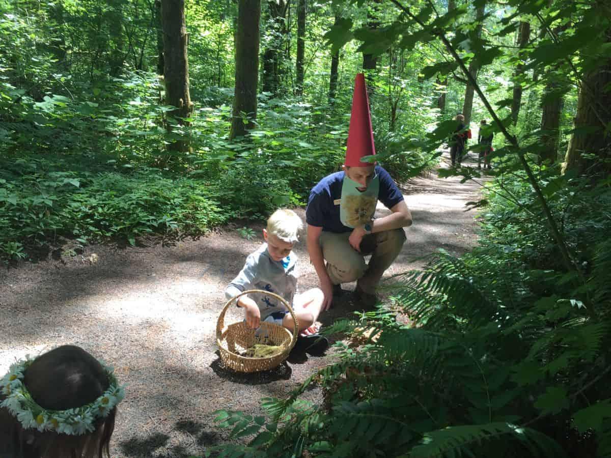 Kids love the Fairy Garden Tour at Tillamook Forest.