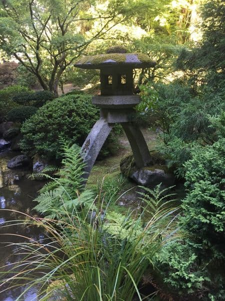 Japanese Garden at Washington Park, Oregon.
