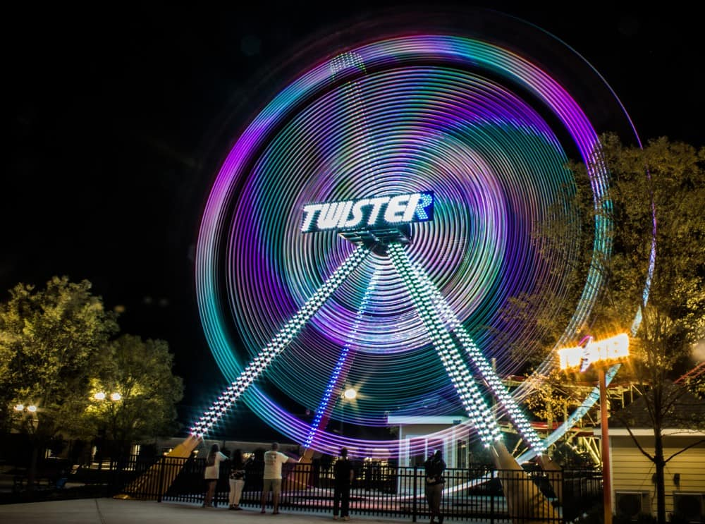 Twister Ride after photo editing.