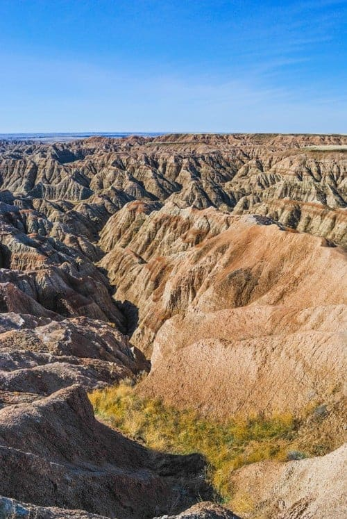 Badlands National Park - US National Park List: 25 Beautiful Parks to Visit