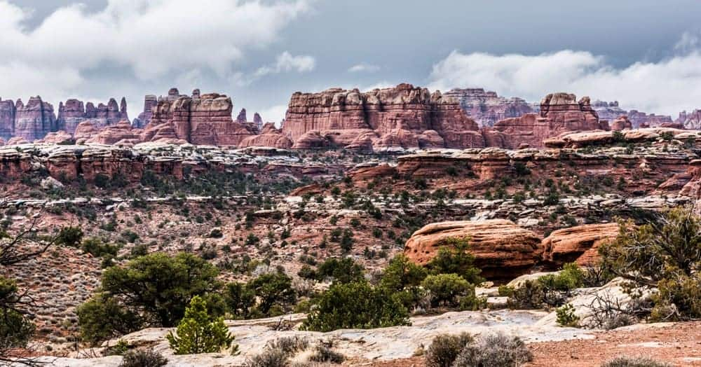 Needles District Canyonlands National Park, Utah - US National Park List: 25 Beautiful Parks to Visit
