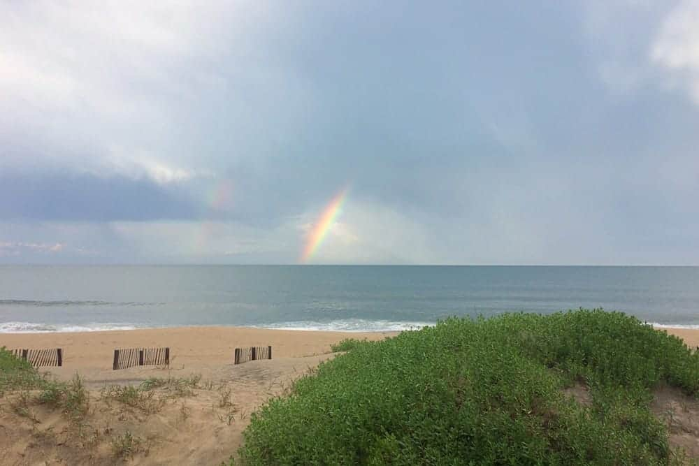 Cape Hatteras National Seashore rainbow - US National Park List: 25 Beautiful Parks to Visit