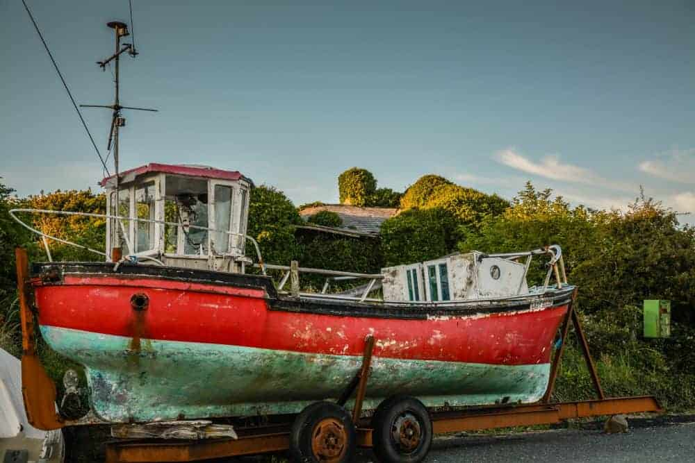 docked boat - after photo, professional photo editing by Photo Jeepers