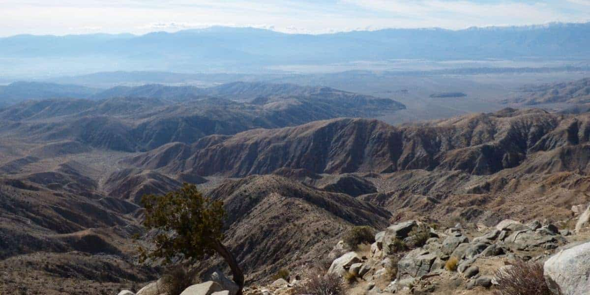 Keys View at Joshua Tree National Park.