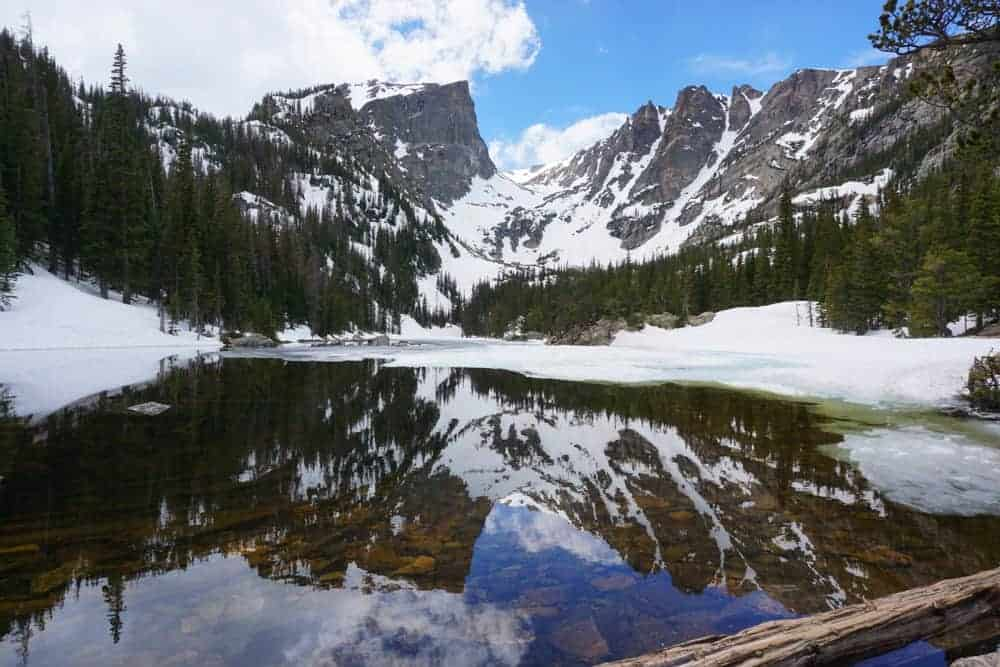 Mountain lake at Rocky Mountain National Park - US National Park List: 25 Beautiful Parks to Visit
