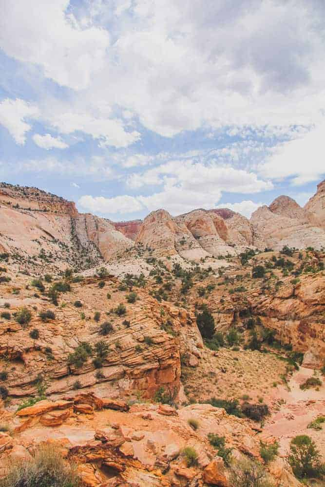 Capitol Reef hikes - Capitol Gorge Wash The Tanks
