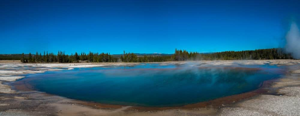 Geyser at Yellowstone National Park - US National Park List: 25 Beautiful Parks to Visit