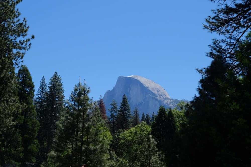 Half Dome at Yosemite National Park - US National Park List: 25 Beautiful Parks to Visit