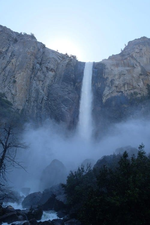 Waterfall at Yosemite National Park - US National Park List: 25 Beautiful Parks to Visit