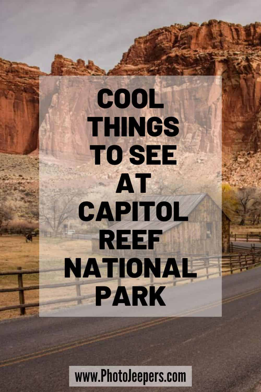 Use this guide to explore Capitol Reef:  Capitol Reef Hiking Gear | Capitol Reef Hiking Tips | Favorite Capitol Reef Hikes | Fun Capitol Reef Activities #nationalparks #capitolreef #utah #photojeepers