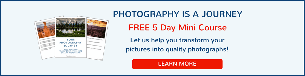 Your Photography Journey FREE 5 Day Mini Course