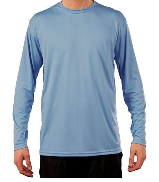 Men's sun protection long sleeve shirt