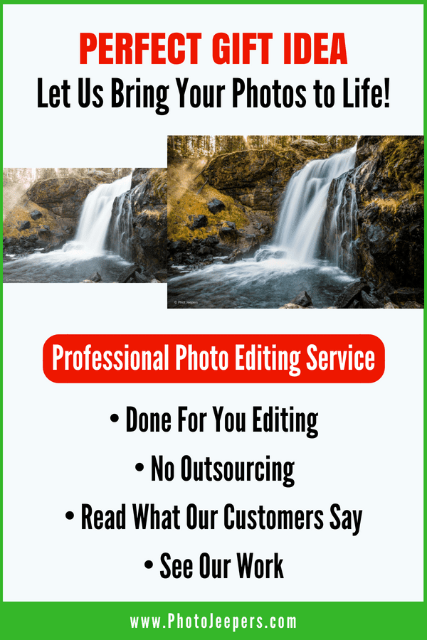 Perfect Gift Idea to Let Us Bring Your Photos to Life with Professional Photo Editing