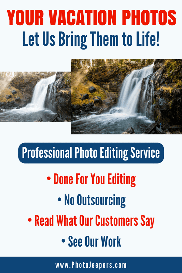 professional photo editing - let us bring your photos to life