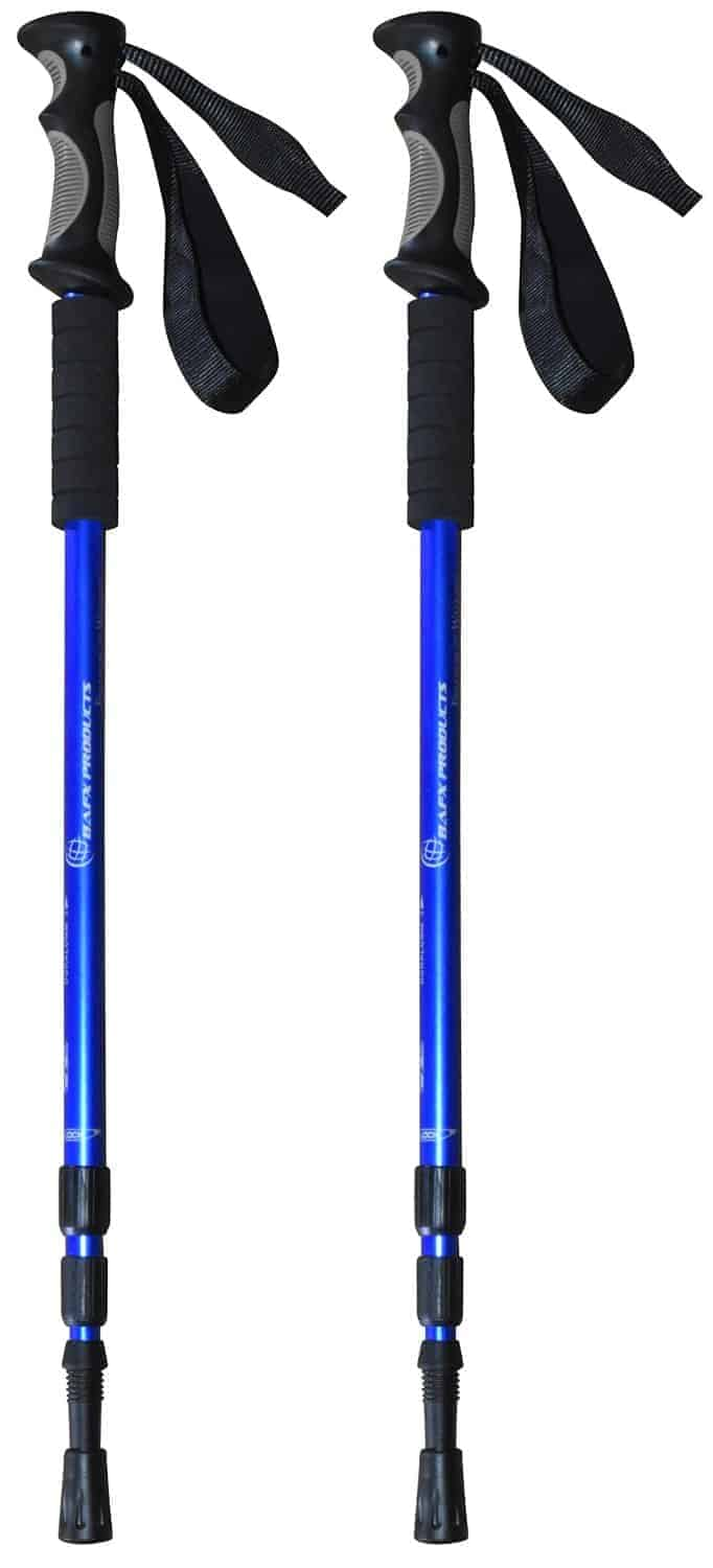 Trekking hiking poles