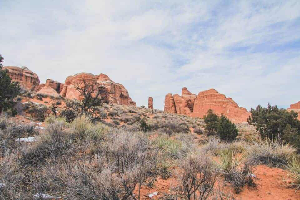 Devil's Garden Hiking Trail at Arches National Park