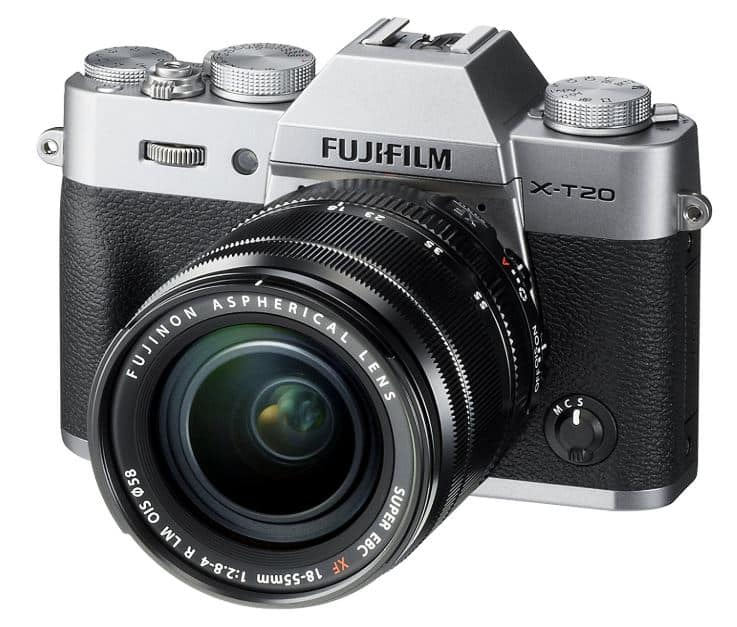 Travel Photography Gift Idea: Compact Travel Camera Fujifilm X-T20