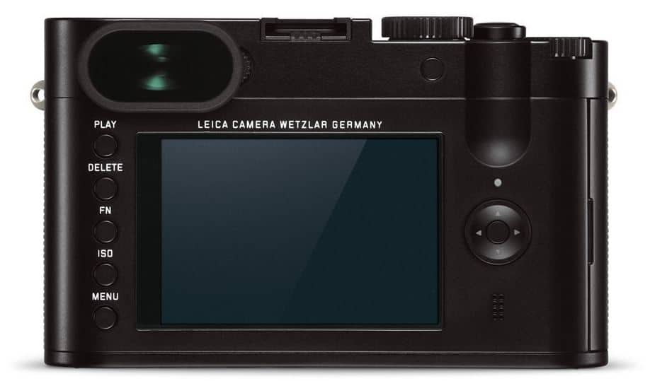 Leica Q digital travel camera back