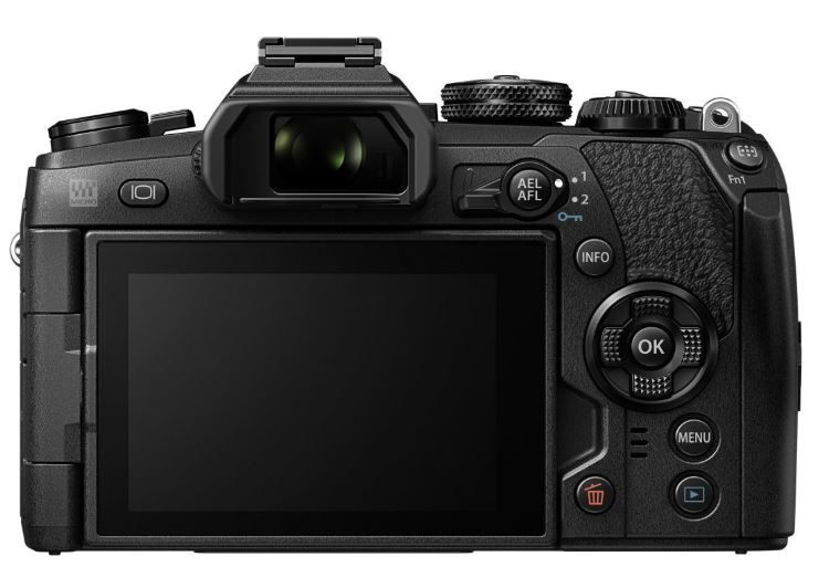 Olympus OM-D E-M1 Mark II camera back