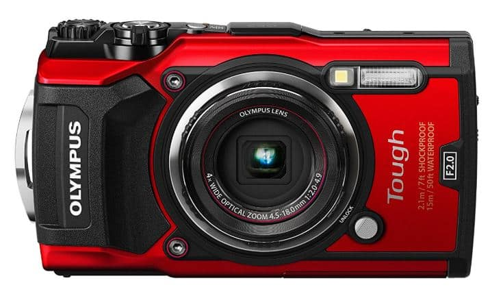Olympus Tough TG-5 waterproof travel camera