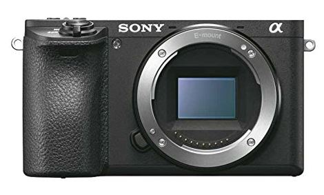 Sony A6500 mirrorless travel camera