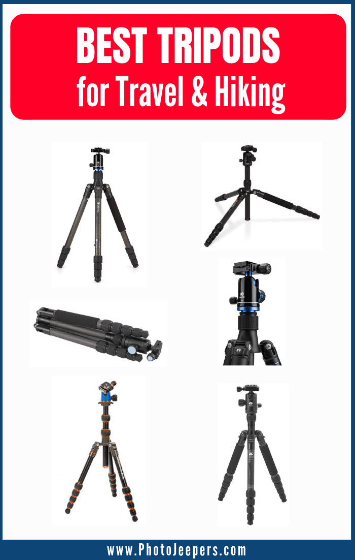 Best Tripods for Travel and Hiking