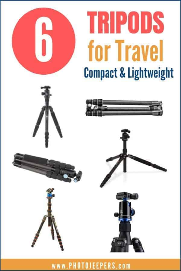 6 tripods for travel that are compact and lightweight