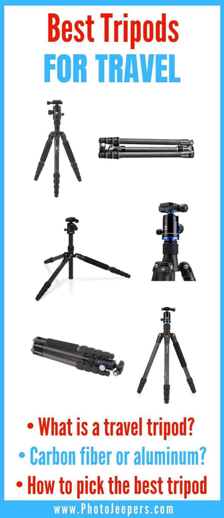 Best Tripods for Travel