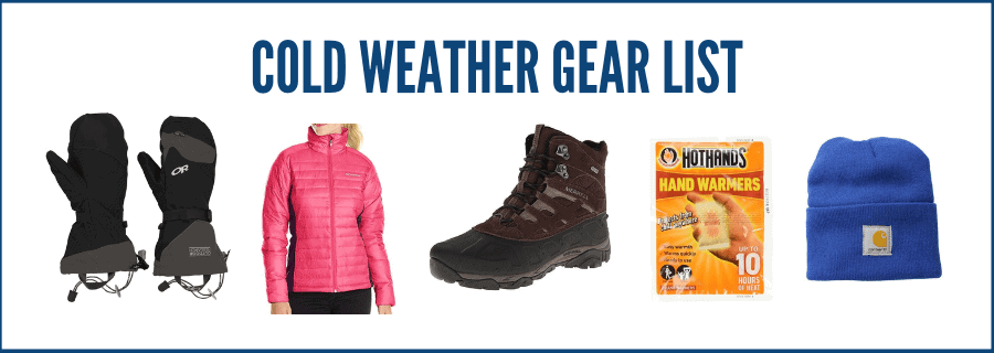 Cold Weather Gear List