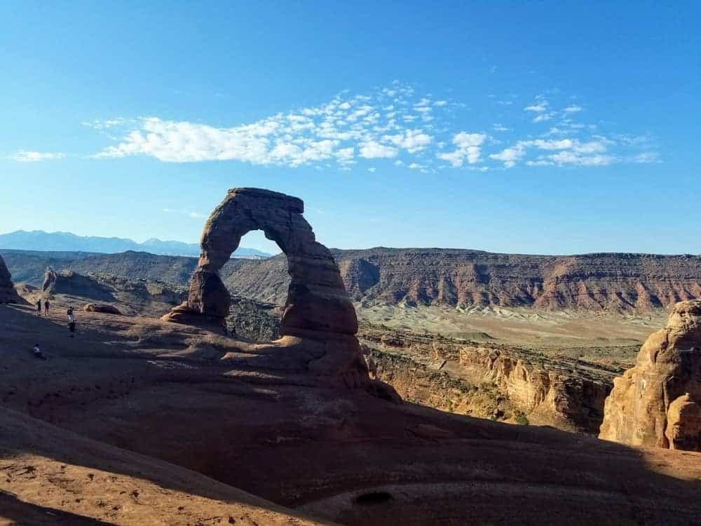 Delicate Arch at Arches National Park, US Southwest Road Trip
