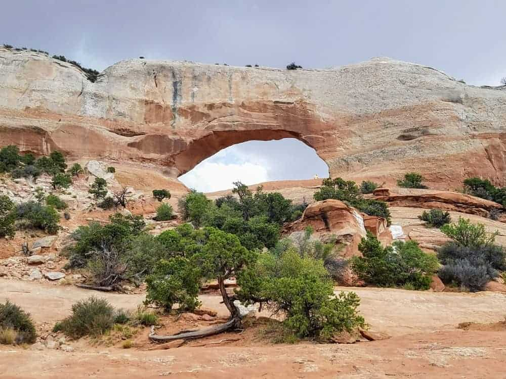 Wilson Arch near Moab, Utah, US Southwest Road Trip