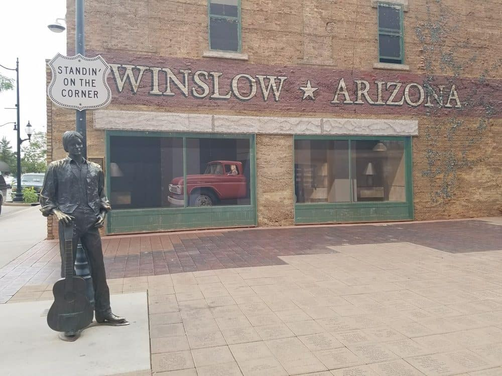 Winslow, Arizona US Southwest Road Trip