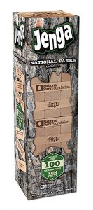 National Parks Jenga game: National Parks with kids