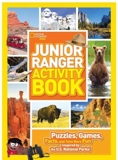 junior ranger activity book: National Parks with kids