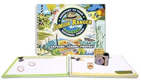 Passport to Your National Park, Junior Edition for visiting national parks with kids