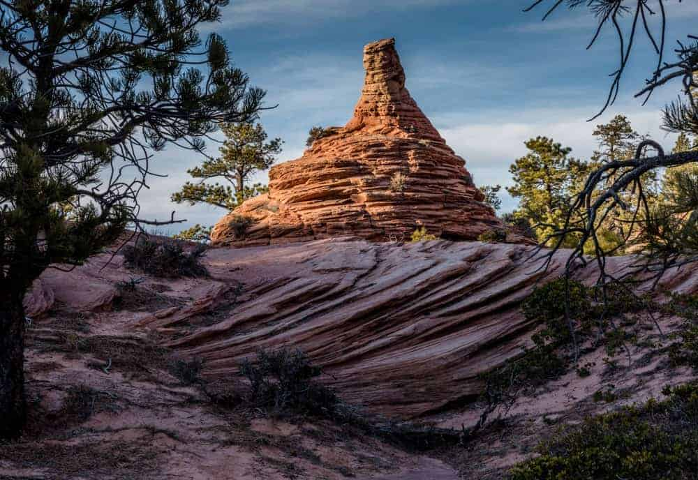 Hoodoo City - photography spot when visiting Zion National Park in Utah