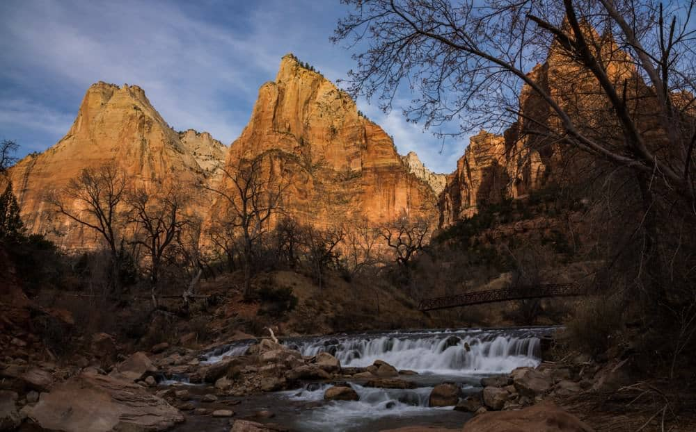 Three Patriarchs - photography spot when visiting Zion National Park in Utah