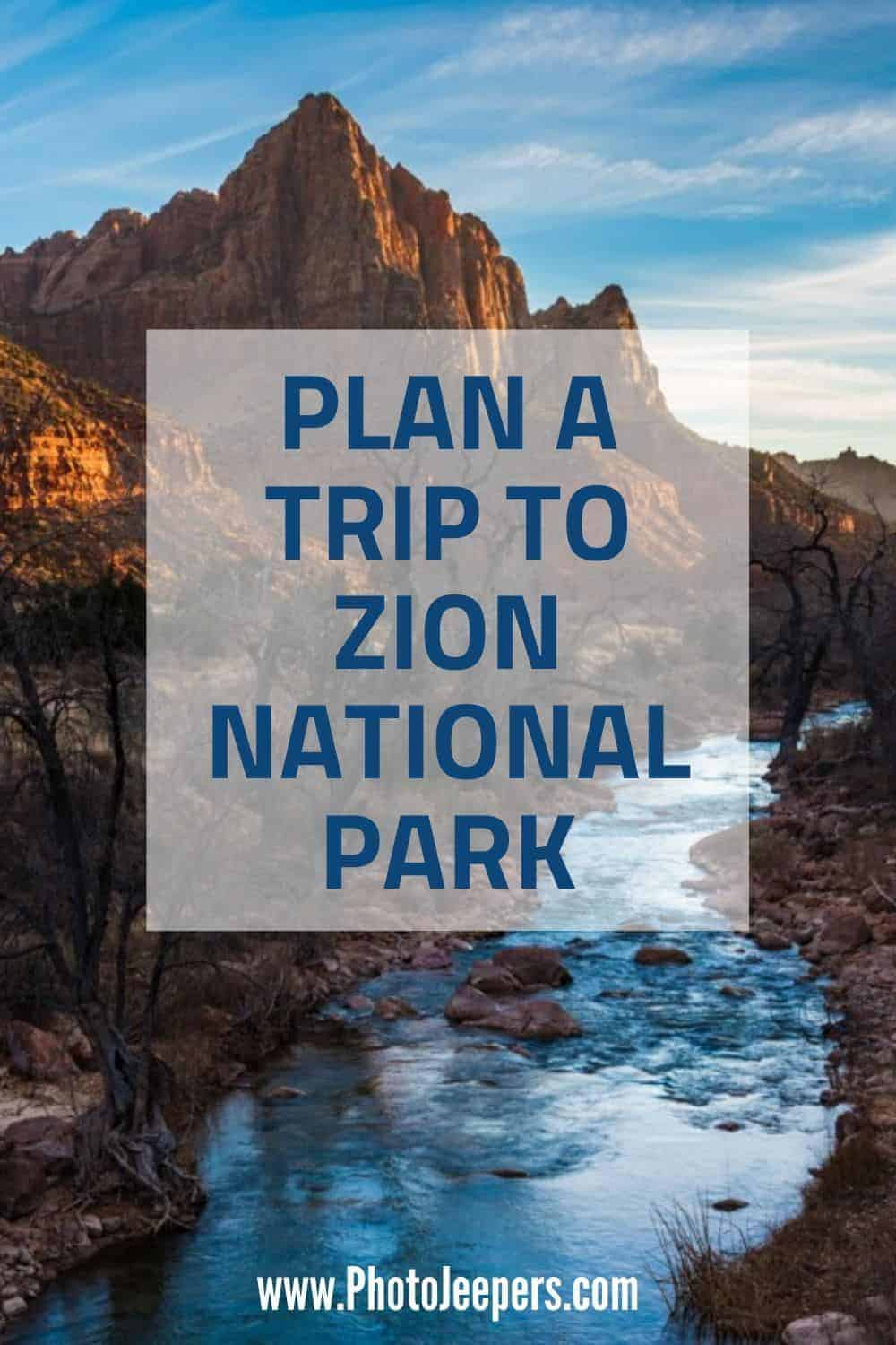 If you're planning a visit to Zion, then read our extensive Zion National Park guide filled with tips to help you plan the perfect Zion National Park vacation: What to pack for a trip to Zion | Where to stay near Zion | Zion National Park basics | How to get to Zion | Things to do at Zion National Park #nationalparks #zion #zionnationalpark #utah #photojeepers