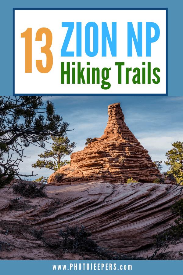 13 Zion National Park Hiking Trails