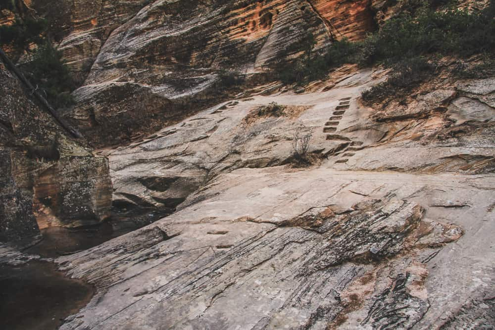 Hidden Canyon Trail at Zion National Park, Utah
