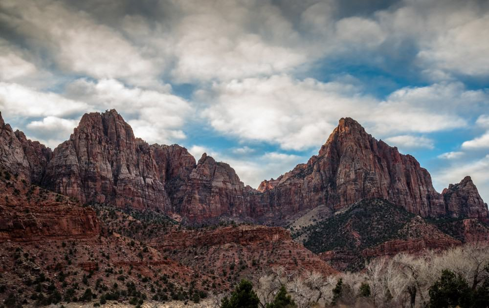 Watchman Trail at Zion National Park, Utah