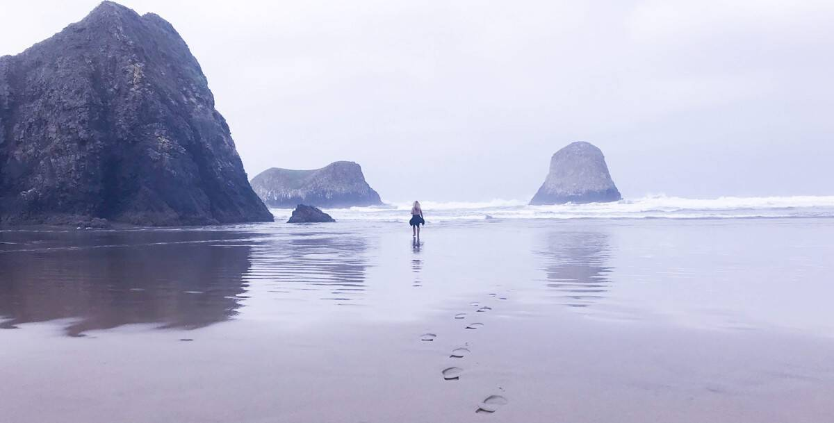 Crescent Beach at Ecola State Park in Oregon