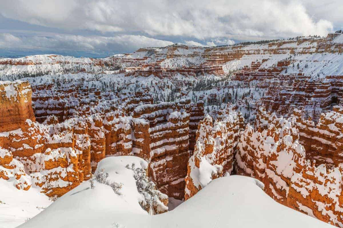 Bryce Canyon photography in the winter is spectacular.
