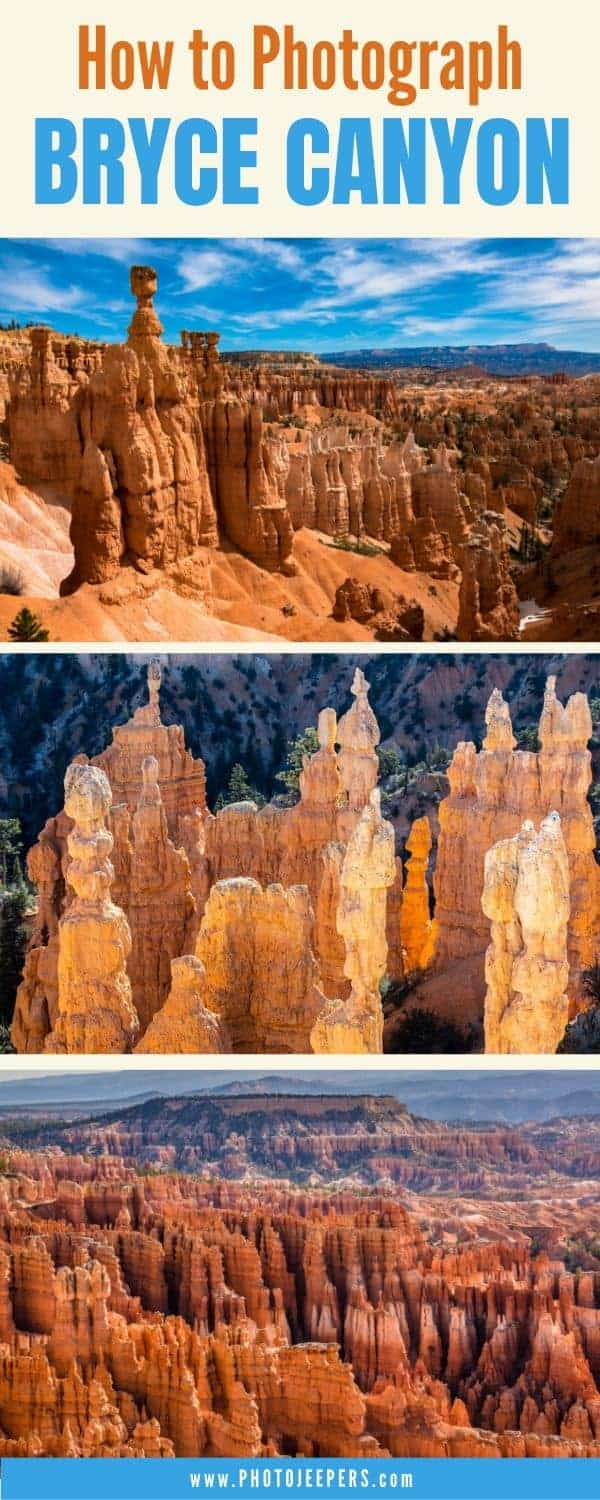 How to photograph Bryce Canyon
