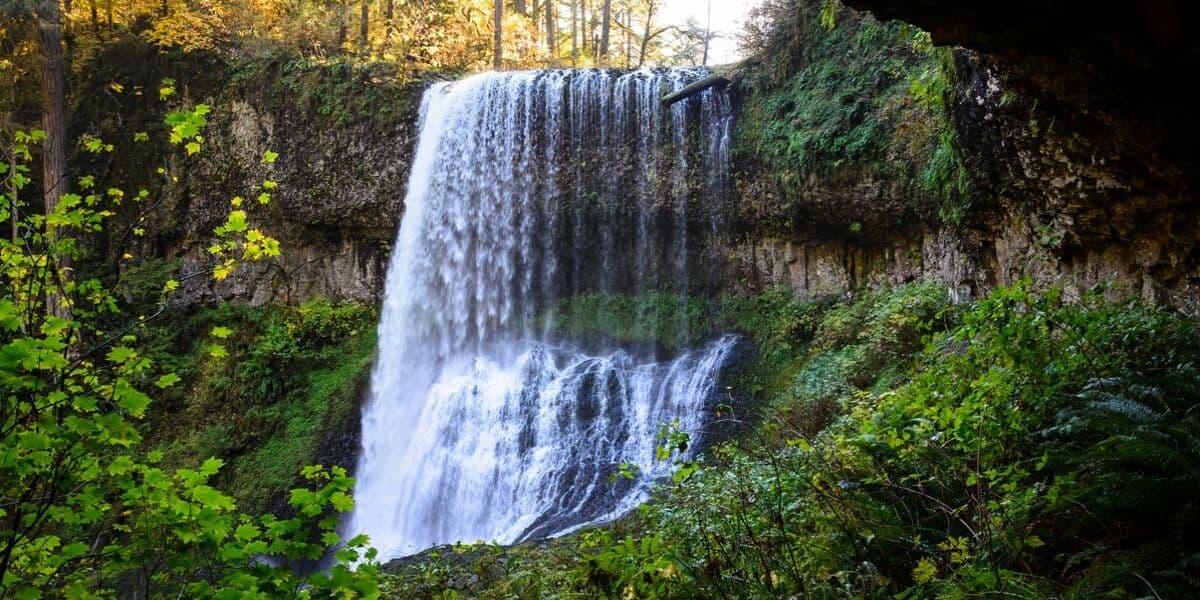 Silver Falls State Park near Portland, Oregon