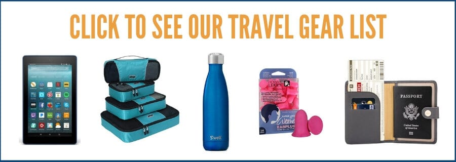 Click to see our travel gear list